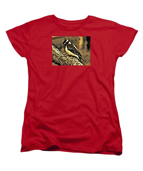 Women's T-Shirt (Standard Cut) featuring the photograph Full-color Not Needed by VLee Watson