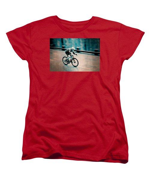 Women's T-Shirt (Standard Cut) featuring the photograph Full Speed Ahead by Ari Salmela
