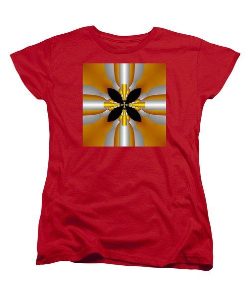 Futuristic Women's T-Shirt (Standard Cut) by Svetlana Nikolova