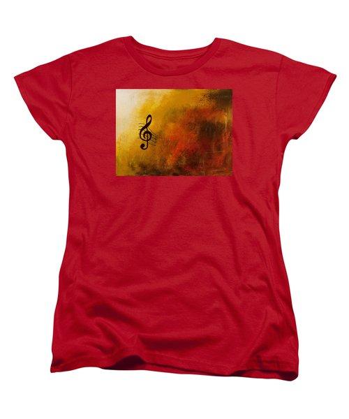 G Symphony Women's T-Shirt (Standard Cut) by Carmen Guedez