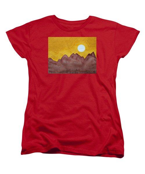 Gallup Original Painting Women's T-Shirt (Standard Cut) by Sol Luckman