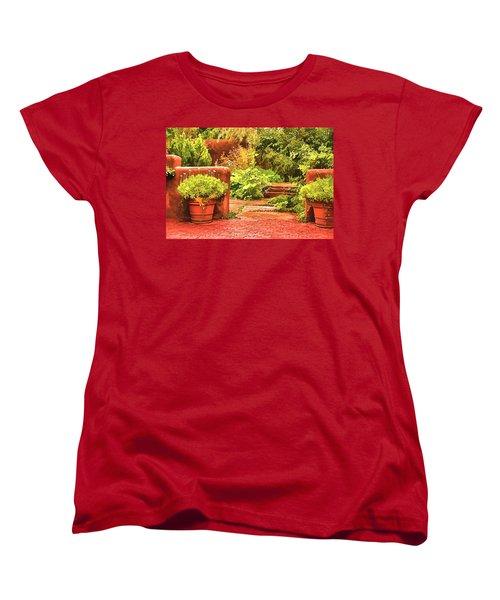 Garden Women's T-Shirt (Standard Cut) by Muhie Kanawati