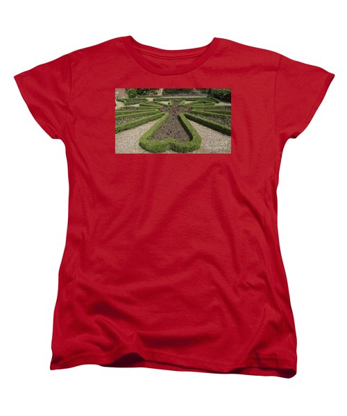 Garden Of Peace Women's T-Shirt (Standard Cut) by Tracey Williams
