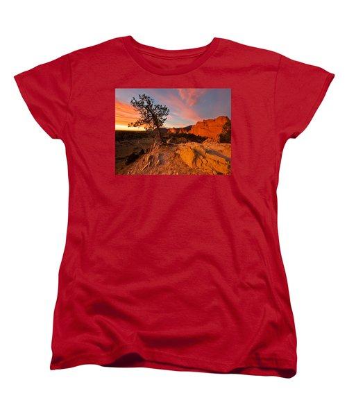 Garden Sunrise Women's T-Shirt (Standard Cut) by Ronda Kimbrow