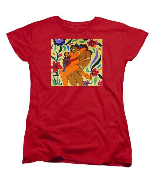 Gateway Of  Haven Women's T-Shirt (Standard Cut) by Ragunath Venkatraman