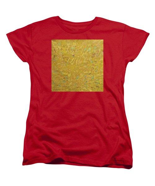 Gems And Sand Women's T-Shirt (Standard Cut) by Sumit Mehndiratta