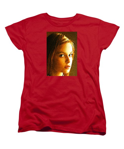 Girl Sans Women's T-Shirt (Standard Cut) by Richard Thomas