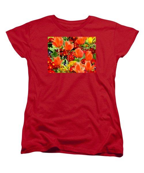 Glorious Garden Women's T-Shirt (Standard Cut) by Bruce Nutting
