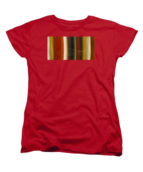 Gold Rush Women's T-Shirt (Standard Cut) by Carmen Guedez