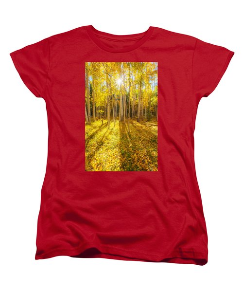 Golden Women's T-Shirt (Standard Cut)