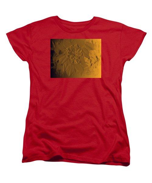Golden Effulgence Women's T-Shirt (Standard Cut) by Jeanette C Landstrom