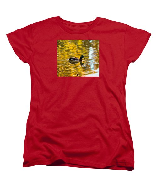 Golden   Leif Sohlman Women's T-Shirt (Standard Cut) by Leif Sohlman