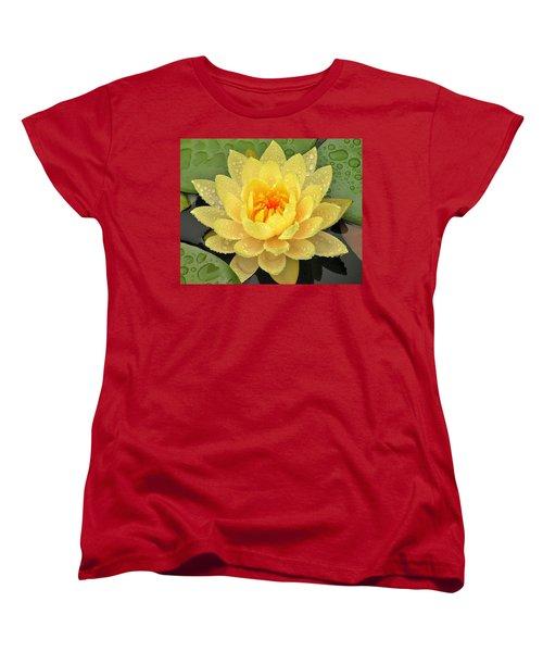Golden Lily Women's T-Shirt (Standard Cut)
