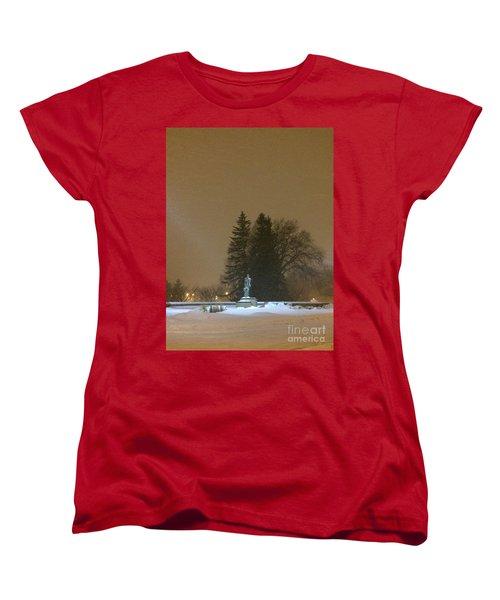 Golden Night Women's T-Shirt (Standard Cut) by Joseph Yarbrough