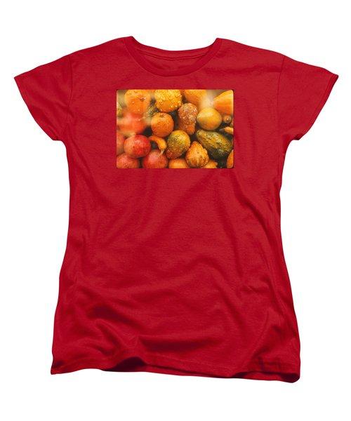 Women's T-Shirt (Standard Cut) featuring the photograph Gorgeous Gourds by Ira Shander