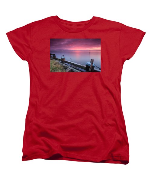 Women's T-Shirt (Standard Cut) featuring the photograph Greenbury Point Sunrise by Jennifer Casey