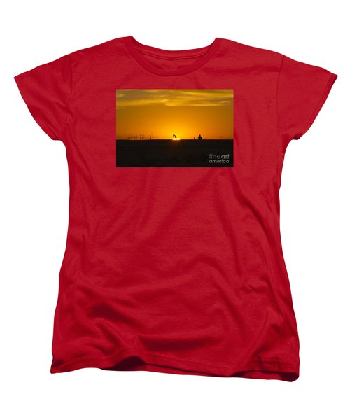 Hammering The Sun Women's T-Shirt (Standard Cut) by Alycia Christine