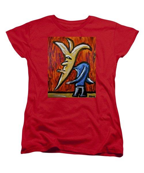 Happiness 12-001 Women's T-Shirt (Standard Cut) by Mario Perron