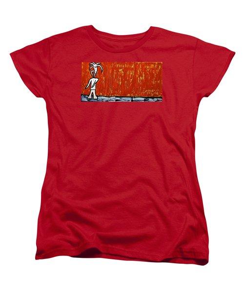 Happiness 12-007 Women's T-Shirt (Standard Cut) by Mario Perron