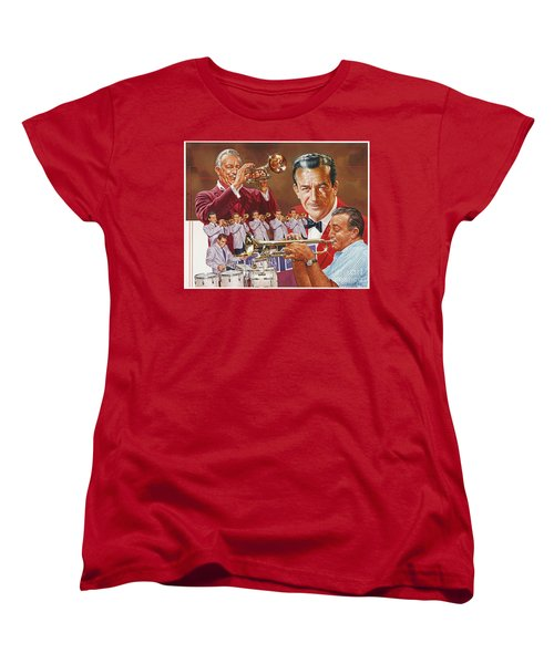 Harry James Trumpet Giant Women's T-Shirt (Standard Cut)