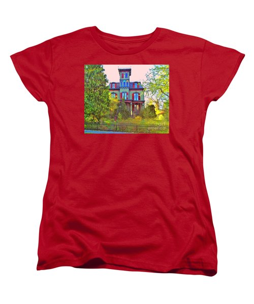 Women's T-Shirt (Standard Cut) featuring the photograph Hauntingly Victorian  by Becky Lupe