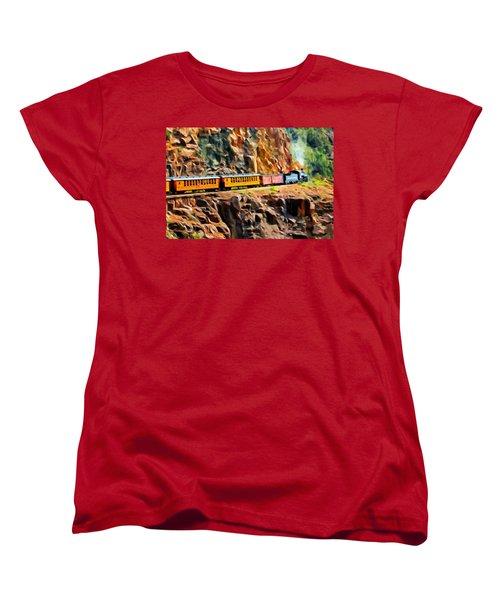 Headed Up The Grade Women's T-Shirt (Standard Cut) by Michael Pickett