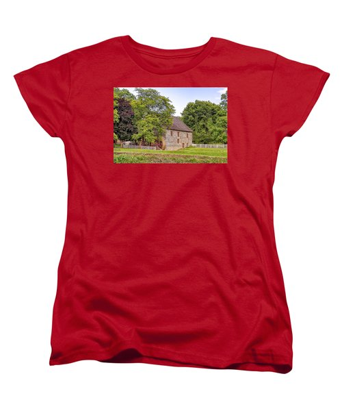 Women's T-Shirt (Standard Cut) featuring the photograph Herr's Mill by Jim Thompson