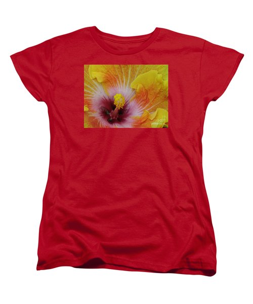 Women's T-Shirt (Standard Cut) featuring the photograph Hibiscus by Tam Ryan