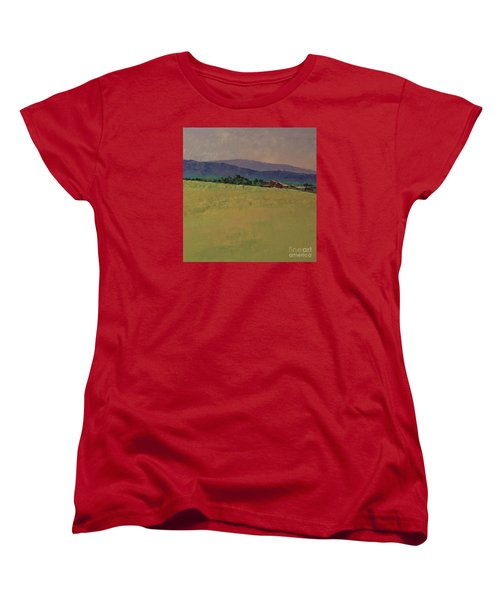 Hilltop Farm Women's T-Shirt (Standard Cut) by Gail Kent
