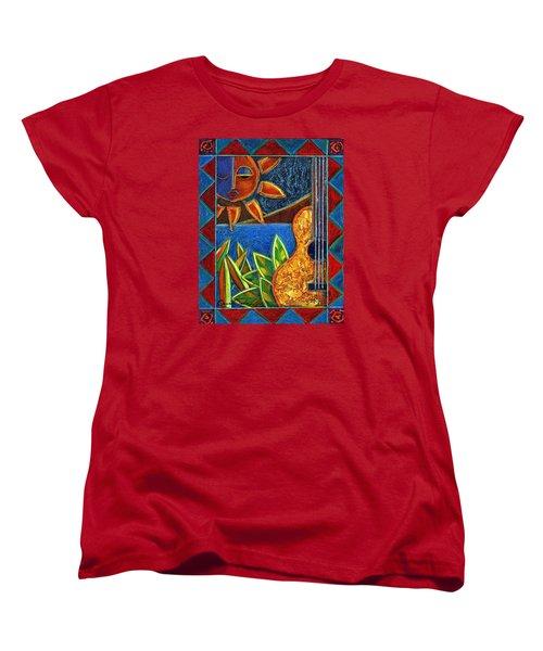 Hispanic Heritage Women's T-Shirt (Standard Cut) by Oscar Ortiz