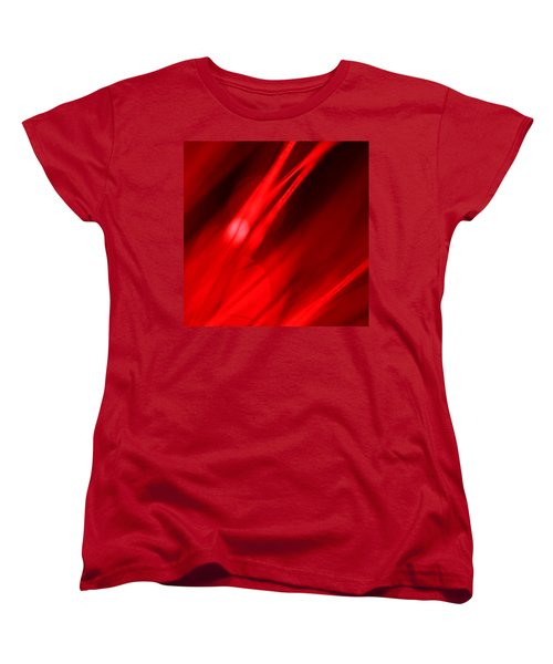 Hot Blooded Series Part 3 Women's T-Shirt (Standard Cut) by Dazzle Zazz