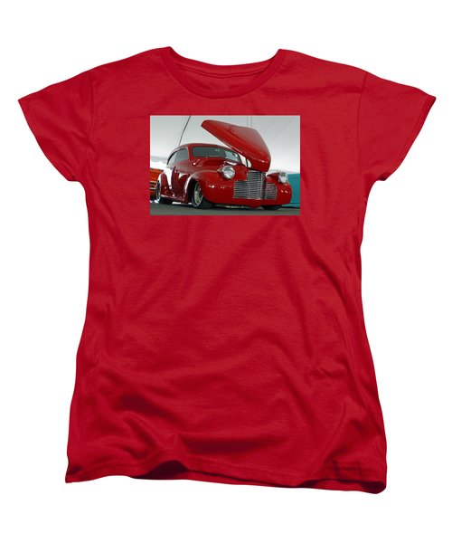 Women's T-Shirt (Standard Cut) featuring the photograph Hot In Red by Shoal Hollingsworth