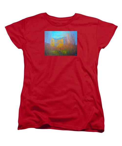 House In Blacksburg Women's T-Shirt (Standard Cut) by Kendall Kessler