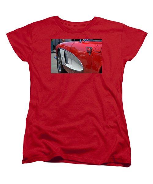 Women's T-Shirt (Standard Cut) featuring the photograph Hr-37 by Dean Ferreira