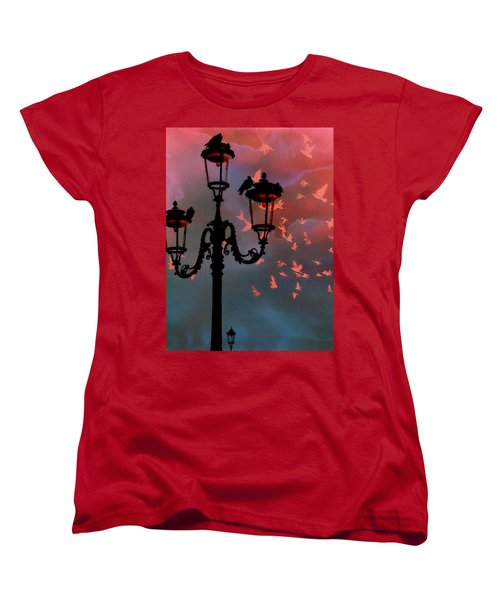 Women's T-Shirt (Standard Cut) featuring the photograph Il Volo by Micki Findlay