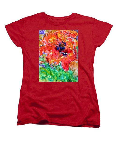 Imminent Disintegration Women's T-Shirt (Standard Cut) by Beverley Harper Tinsley