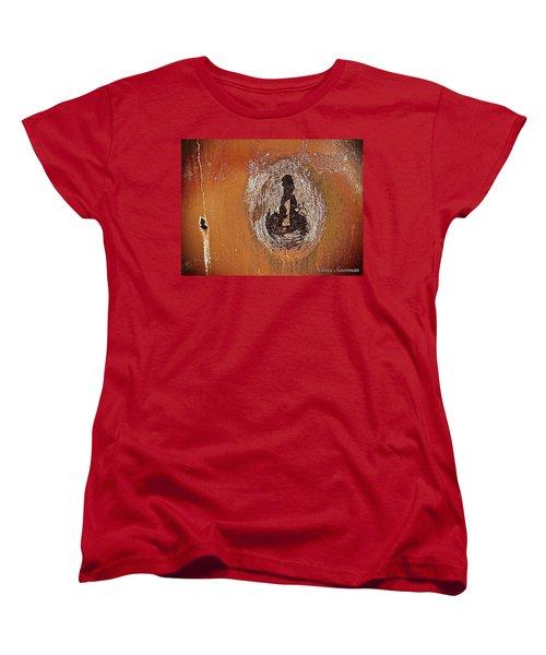 Imprintable Women's T-Shirt (Standard Cut) by Delona Seserman