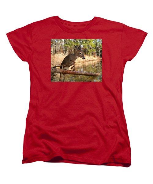 In A Flash Women's T-Shirt (Standard Cut) by Bill Stephens