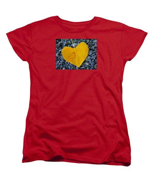 Women's T-Shirt (Standard Cut) featuring the photograph In Love ... by Juergen Weiss
