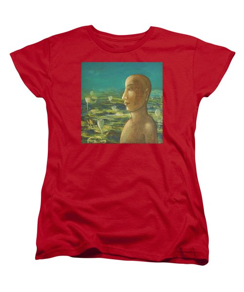In The Realm Of Buddha Women's T-Shirt (Standard Cut)