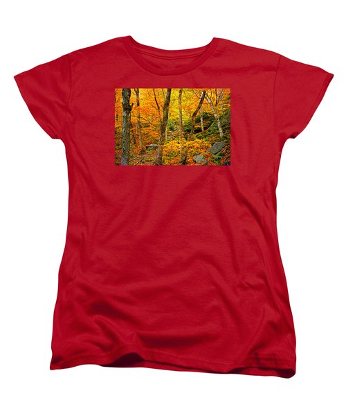 Women's T-Shirt (Standard Cut) featuring the photograph In The Woods by Bill Howard