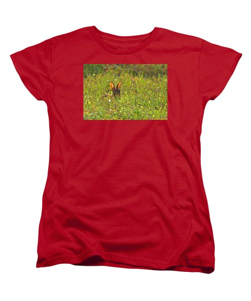 Inconspicuous Women's T-Shirt (Standard Cut) by Gary Holmes