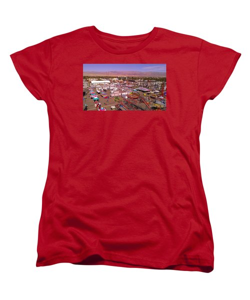 Indio Fair Grounds Women's T-Shirt (Standard Cut) by Chris Tarpening