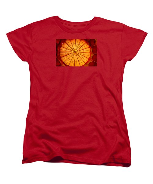 Women's T-Shirt (Standard Cut) featuring the photograph Inside The Red Baloon by Nadalyn Larsen