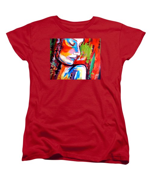 Women's T-Shirt (Standard Cut) featuring the painting Insight by Helena Wierzbicki
