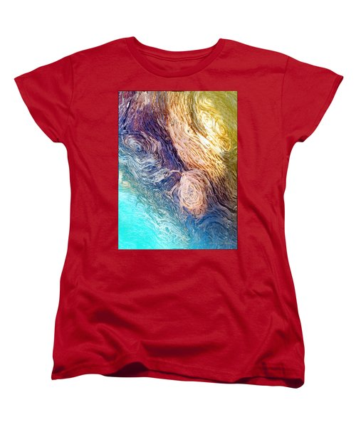 Women's T-Shirt (Standard Cut) featuring the photograph Into The Deep by Joyce Dickens