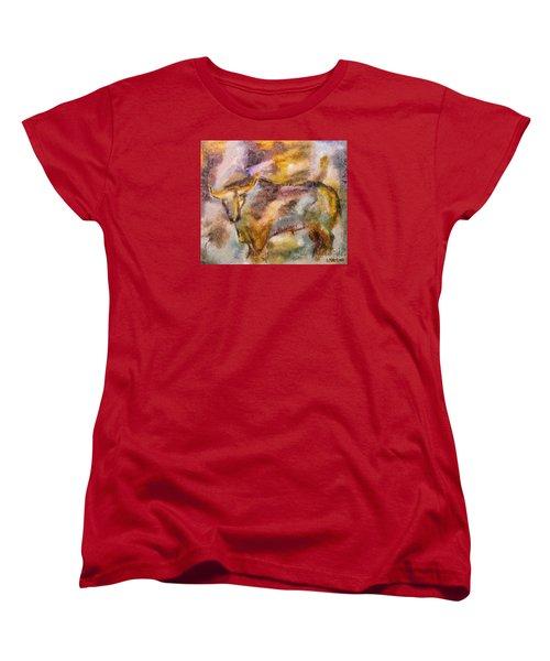 Istrian Bull -  Boshkarin Women's T-Shirt (Standard Cut) by Dragica  Micki Fortuna