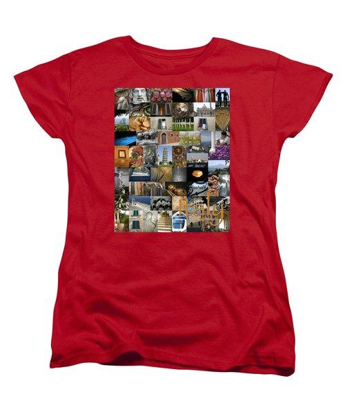 Italy Poster Women's T-Shirt (Standard Cut) by KG Thienemann