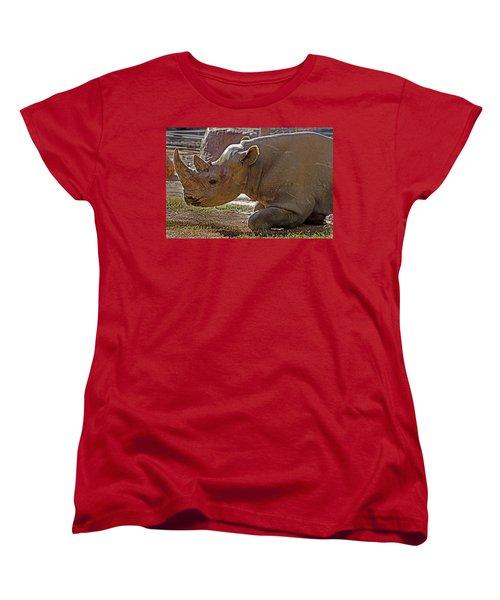 Its My Horn Not Your Medicine Women's T-Shirt (Standard Cut) by Miroslava Jurcik