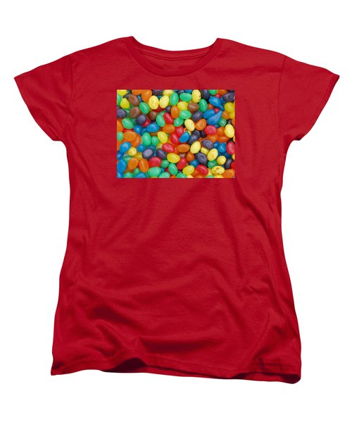 Jelly Beans Women's T-Shirt (Standard Cut) by Ron Harpham